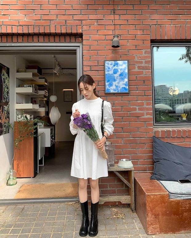 Gái Hàn lên đồ mùa thu trông yêu thế, biến tấu đa dạng với đủ loại trang phục nhìn mà ưng cái bụng - Ảnh 7.