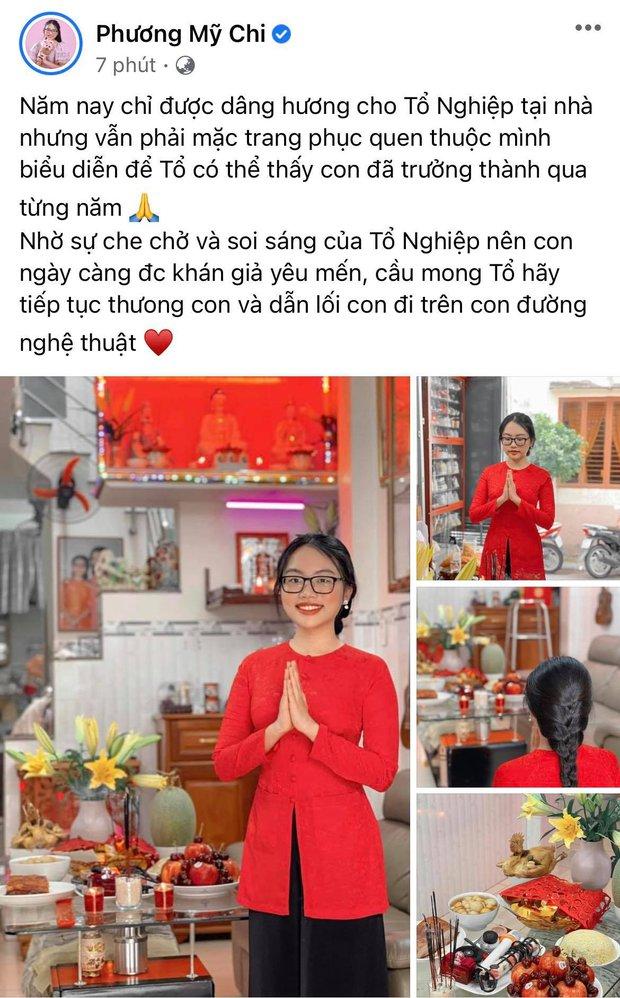 Showbiz Việt ngày Giỗ tổ sân khấu: Lý Hải - Khánh Vân và dàn sao khủng dâng lễ online tại gia, chẳng tụ họp mà cực ấm cúng!  - Ảnh 9.