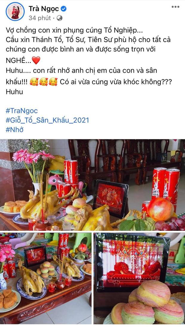 Showbiz Việt ngày Giỗ tổ sân khấu: Lý Hải - Khánh Vân và dàn sao khủng dâng lễ online tại gia, chẳng tụ họp mà cực ấm cúng!  - Ảnh 33.