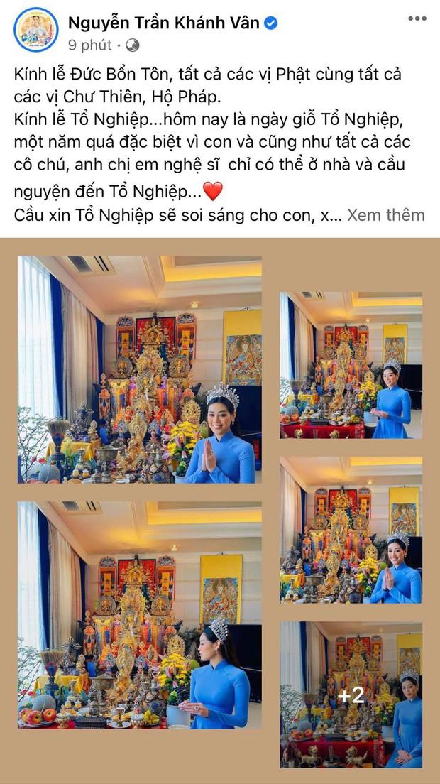 Showbiz Việt ngày Giỗ tổ sân khấu: Lý Hải - Khánh Vân và dàn sao khủng dâng lễ online tại gia, chẳng tụ họp mà cực ấm cúng!  - Ảnh 8.