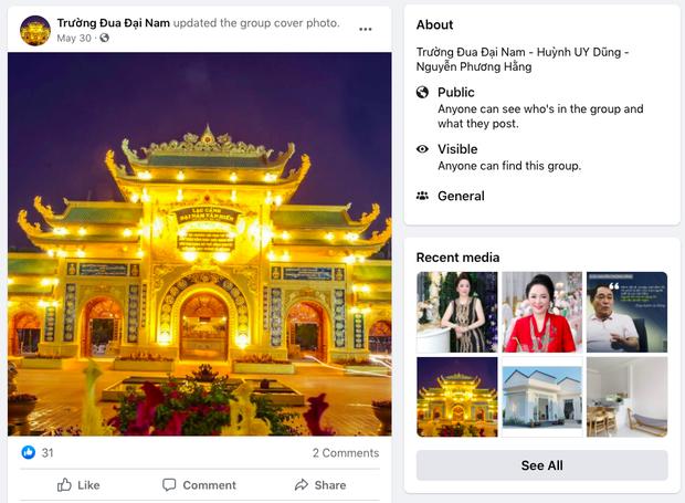 Xuất hiện nhóm Facebook Trường đua Đại Nam của bà Phương Hằng có hơn 800k thành viên, nguồn gốc hết sức phẫn nộ! - Ảnh 3.