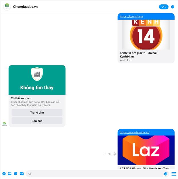 Hiếu PC tung chatbot Chống Lừa Đảo ngay trên Messenger, người dùng có thể nhận biết website không an toàn trong vòng 5s! - Ảnh 3.