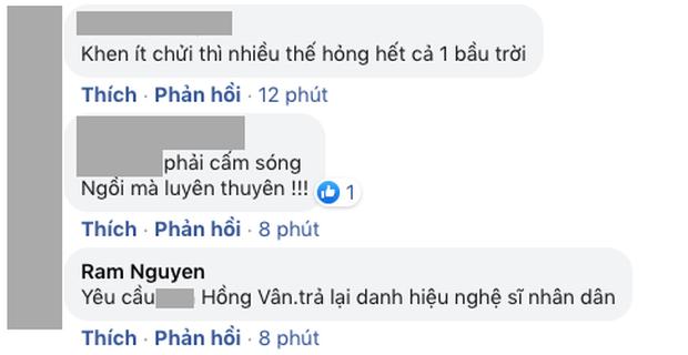 NS Hồng Vân bị netizen bão công kích đúng ngày Giỗ tổ sân khấu, lùm xùm quảng cáo bất ngờ bị khui lại - Ảnh 5.