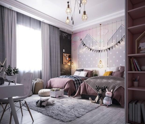 Kém ngon giấc, hay lo âu dễ là do phòng ngủ lạnh lẽo, áp dụng ngay 5 thủ thuật này để đổi vận căn phòng - Ảnh 1.