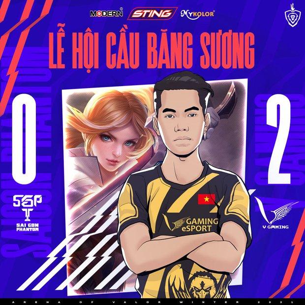 Thần đồng của Saigon Phantom nhận mưa chỉ trích sau khi bóng ma Sài thành để thua V Gaming - Ảnh 1.