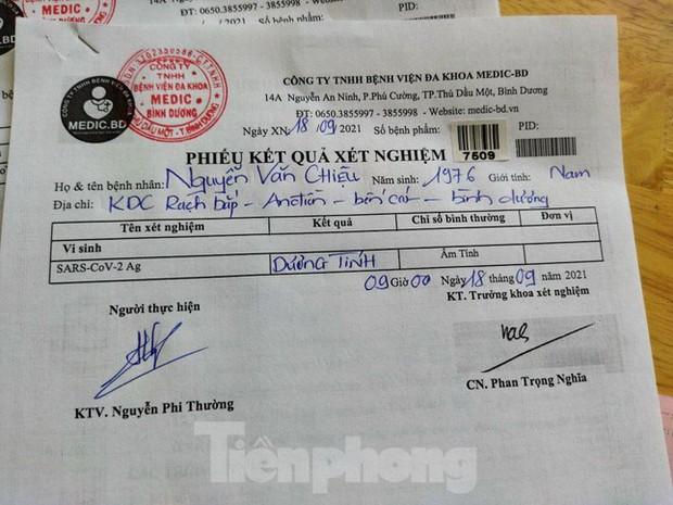 Trình giấy âm tính khi qua chốt, tài xế bị phát hiện dương tính SARS-CoV-2 - Ảnh 3.