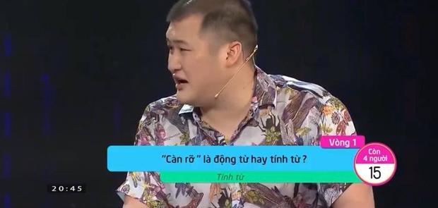 Gameshow Vua Tiếng Việt gây tranh cãi khi giải thích: Tính từ bổ ngữ cho động từ - Ảnh 3.