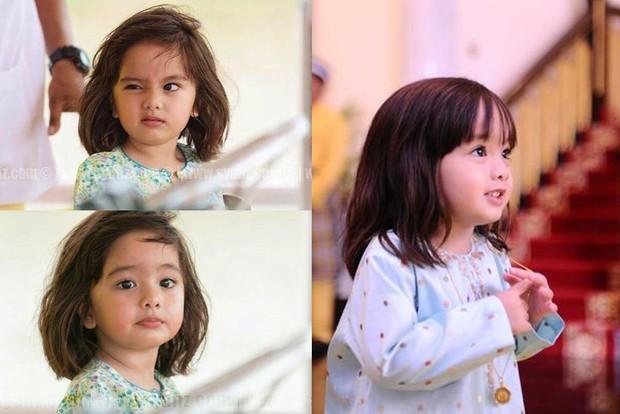 Tiểu mỹ nhân của Hoàng gia Malaysia: Công chúa sinh ra trên núi vàng, gây sốt với loạt biểu cảm khó ở và càng lớn càng xinh - Ảnh 1.