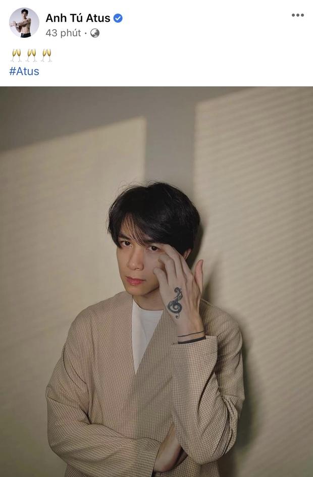Anh Tú đăng ảnh chứa ký tự đặc biệt, netizen ồ ạt hỏi có phải đầy tháng con với Diệu Nhi? - Ảnh 2.