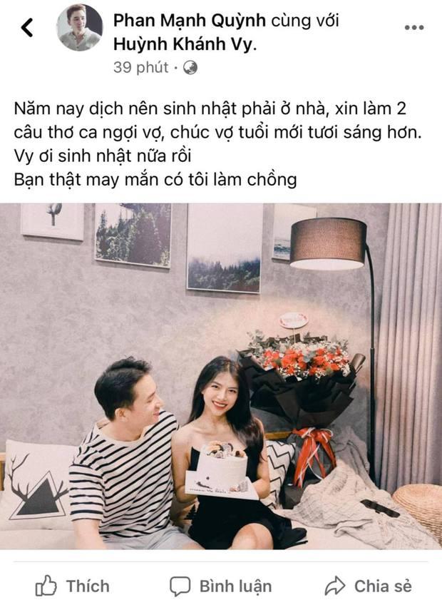 Thánh hài Phan Mạnh Quỳnh làm thơ tặng vợ, nào ngờ bị bà xã đối lại lầy hết chỗ nói, còn tiện bóc phốt luôn! - Ảnh 2.