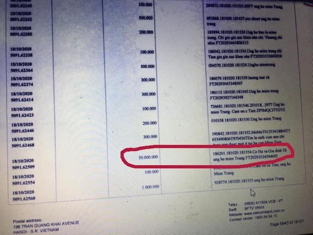 Hằng Túi bị tố làm giả chuyển khoản 80 triệu cho Thuỷ Tiên, netizen tìm ra bằng chứng minh oan ngay trong 18.000 tờ sao kê - Ảnh 6.