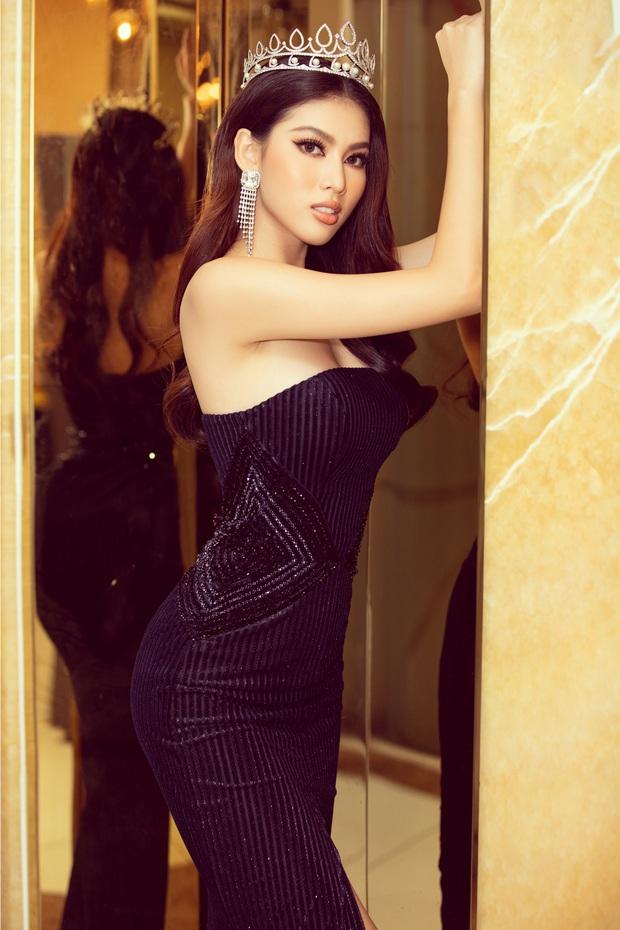 Sự kiện hiếm hoi giữa mùa dịch: Á hậu Ngọc Thảo khoe vòng 1 sexy, đại diện Việt Nam tại Miss Grand 2021 chặt chém không vừa! - Ảnh 4.