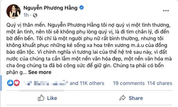Bà Phương Hằng tiết lộ lí do quyết định livestream trở lại: Tôi sẽ đem sự thật trả về thực tại, đem những điều dối trá ra trước công chúng - Ảnh 2.
