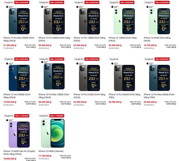 iPhone 13 mới quá đắt đỏ, nhanh trí tậu ngay iPhone 12 đang giảm giá cực sâu - Ảnh 1.