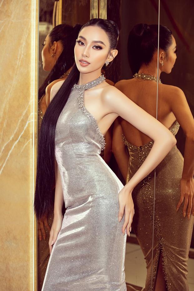Sự kiện hiếm hoi giữa mùa dịch: Á hậu Ngọc Thảo khoe vòng 1 sexy, đại diện Việt Nam tại Miss Grand 2021 chặt chém không vừa! - Ảnh 2.