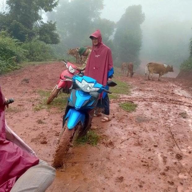 Thầy cô lội bùn lầy, vượt hàng chục km vào bản gọi học sinh đến lớp - Ảnh 1.
