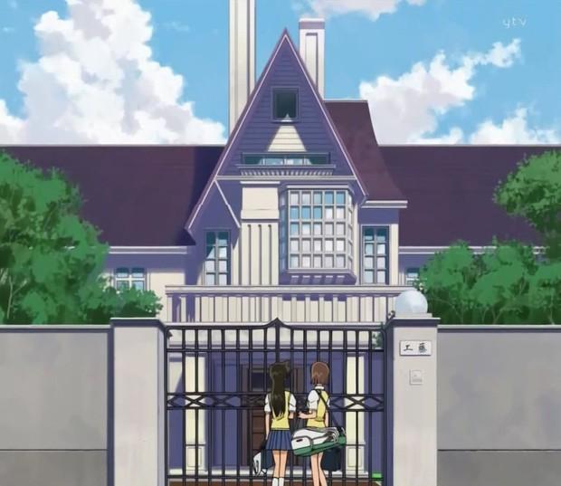 So kè nhà cửa của dàn nhân vật Conan: Shinichi giàu nứt vách nhưng vẫn hửi khói một biệt thự mạ vàng 20.000 tỷ! - Ảnh 19.