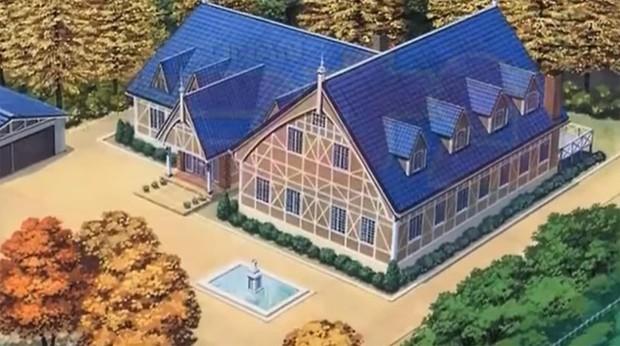 So kè nhà cửa của dàn nhân vật Conan: Shinichi giàu nứt vách nhưng vẫn hửi khói một biệt thự mạ vàng 20.000 tỷ! - Ảnh 14.