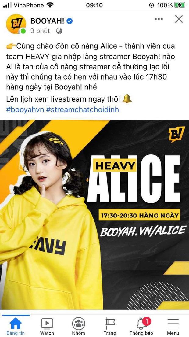 Gần 1 năm sau khi lộ clip 18+, nữ streamer Alice chính thức quay lại sự nghiệp kiếm tiền, được quảng bá rầm rộ - Ảnh 2.