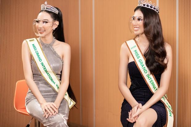 Sự kiện hiếm hoi giữa mùa dịch: Á hậu Ngọc Thảo khoe vòng 1 sexy, đại diện Việt Nam tại Miss Grand 2021 chặt chém không vừa! - Ảnh 12.