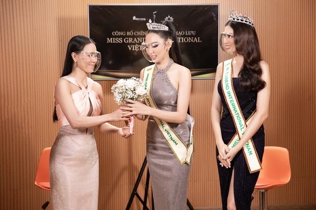 Sự kiện hiếm hoi giữa mùa dịch: Á hậu Ngọc Thảo khoe vòng 1 sexy, đại diện Việt Nam tại Miss Grand 2021 chặt chém không vừa! - Ảnh 8.