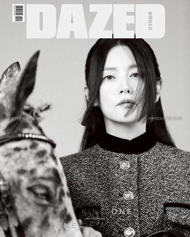 Không nhận ra quốc bảo nhan sắc xứ Hàn Lee Young Ae: Cân cả tóc hime kén mặt, phá cách, hầm hố khác lạ 180 độ vẻ dịu dàng mọi khi - Ảnh 9.