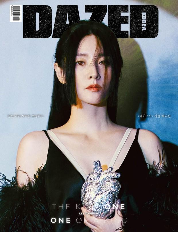Không nhận ra quốc bảo nhan sắc xứ Hàn Lee Young Ae: Cân cả tóc hime kén mặt, phá cách, hầm hố khác lạ 180 độ vẻ dịu dàng mọi khi - Ảnh 2.