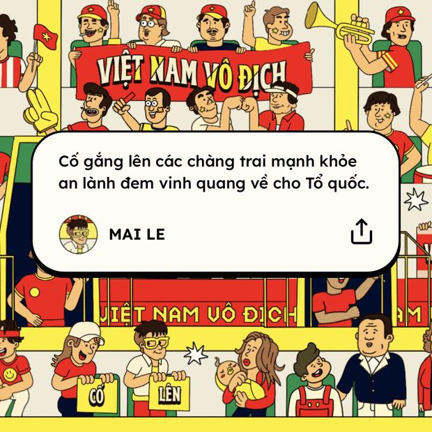 Khán đài ở trong tim: Đêm nay Việt Nam cứ việc chiến đấu hết mình, cổ vũ đã có CĐV lo! - Ảnh 6.