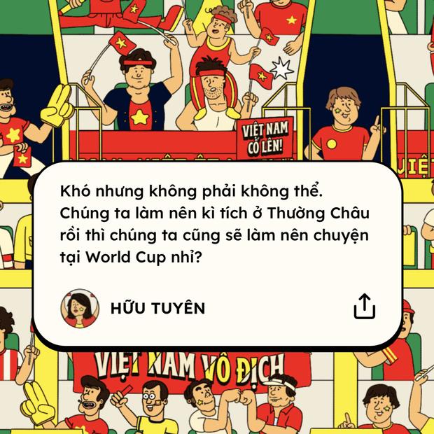 Khán đài ở trong tim: Đêm nay Việt Nam cứ việc chiến đấu hết mình, cổ vũ đã có CĐV lo! - Ảnh 8.
