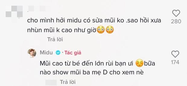 Khoe góc nghiêng liền bị hỏi thẳng chuyện thẩm mỹ, Midu đáp trả bằng cách nào mà netizen gật gù thả tim? - Ảnh 4.