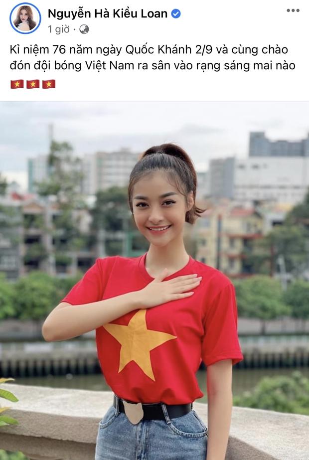 Cả showbiz Việt tiếp lửa cho tuyển Việt Nam trước giờ G: Anh Đức chuẩn bị mồi ngon sẵn sàng, hội Hoa hậu chiếm spotlight - Ảnh 4.