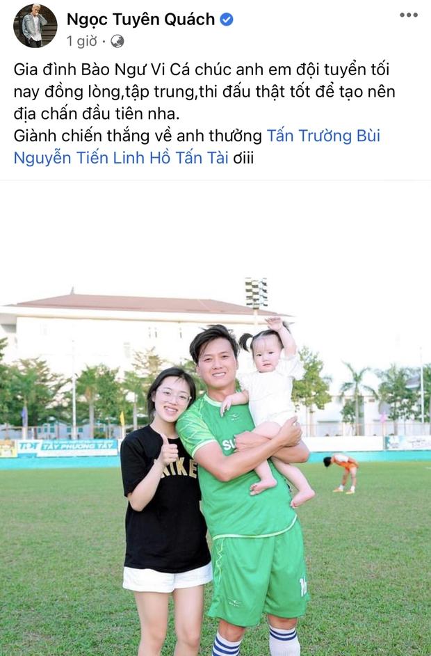 Cả showbiz Việt tiếp lửa cho tuyển Việt Nam trước giờ G: Anh Đức chuẩn bị mồi ngon sẵn sàng, hội Hoa hậu chiếm spotlight - Ảnh 14.