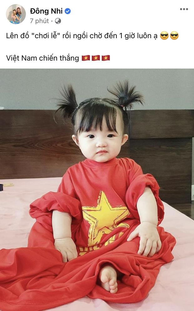 Cả showbiz Việt tiếp lửa cho tuyển Việt Nam trước giờ G: Anh Đức chuẩn bị mồi ngon sẵn sàng, hội Hoa hậu chiếm spotlight - Ảnh 5.