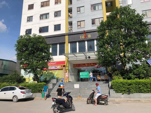 Hà Nội: Người phụ nữ ở nhà 2 tháng dương tính không rõ nguồn lây, phong toả chung cư 1.200 dân - Ảnh 2.