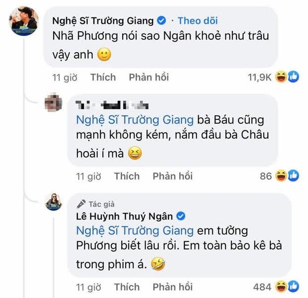 Thúy Ngân vừa ra mắt ở Running Man Việt, Nhã Phương đã nhờ ông xã hỏi thăm 1 câu hết hồn! - Ảnh 2.