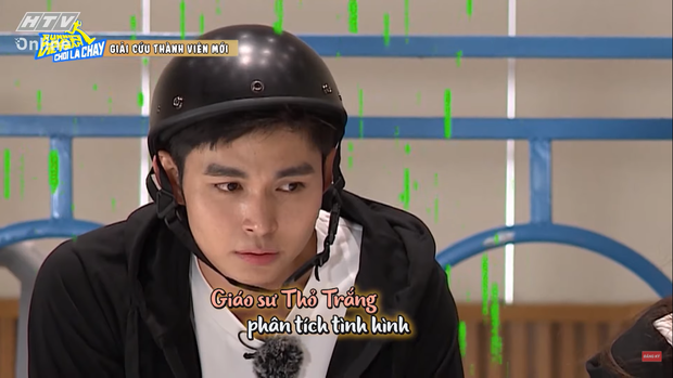 Jun Phạm tấu hài tại Running Man Việt tập 1: Chê Ngô Kiến Huy đã miệng rồi tự đi vào vết xe đổ - Ảnh 4.