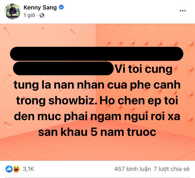 """Kenny Sang bất ngờ comeback, gây sốc với lời """"tố"""": """"Tôi từng là nạn nhân của phe cánh trong showbiz"""" - Ảnh 3."""