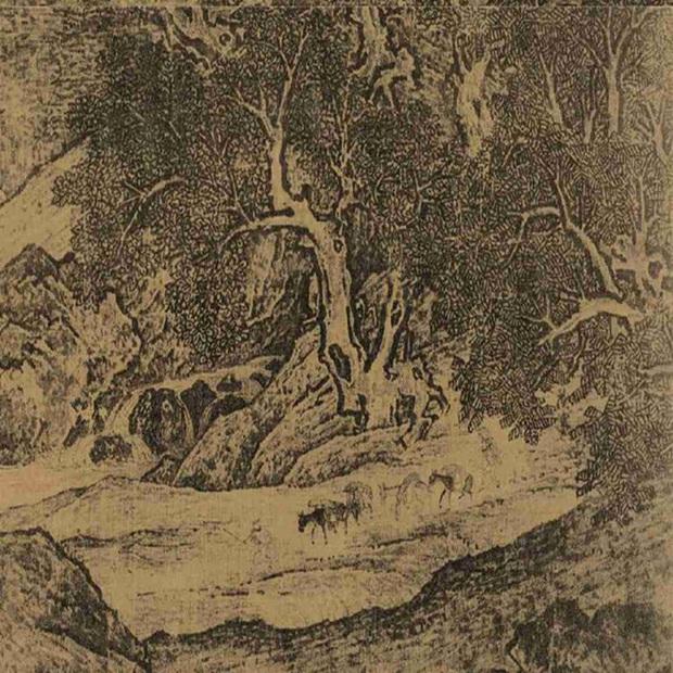 Phóng to 20 lần bức tranh Càn Long yêu thích, chuyên gia vui mừng reo lên: Bí mật hơn 900 năm hóa ra cất giấu ở đây! - Ảnh 2.
