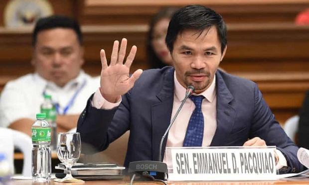 Huyền thoại quyền anh Pacquiao sẽ tranh cử Tổng thống Philippines - Ảnh 1.