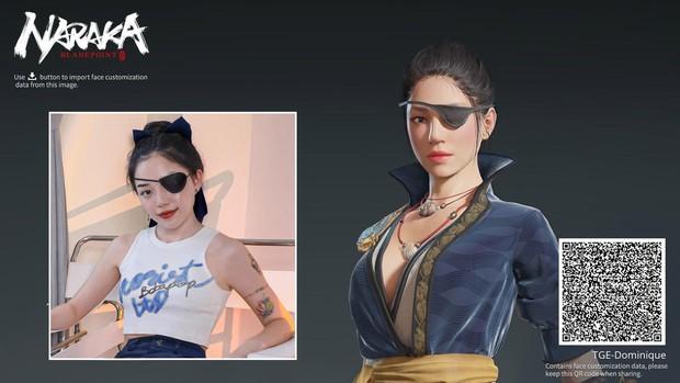 Linh Ngọc Đàm, Hường Lulii... hóa thân thành nữ tướng trong tựa game hot nhất hiện nay, fan đua nhau vào mlem mlem - Ảnh 4.