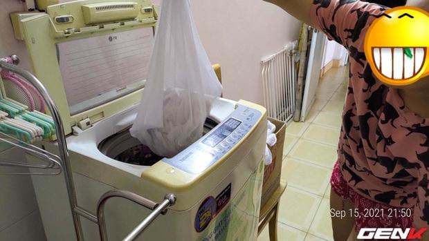 Giặt máy cửa trên làm quần áo nhanh tã nhưng chỉ một phụ kiện giá từ 10k sẽ giúp khắc phục dễ dàng! - Ảnh 6.