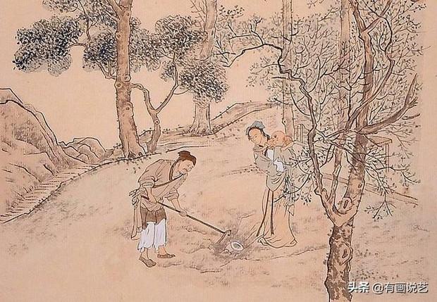 Soi tranh vẽ cảnh sinh hoạt đời xưa trong mộ cổ, dân mạng kịch liệt chỉ trích: Nhìn kỹ mới thấy 1 chi tiết quá mức rùng mình - Ảnh 5.