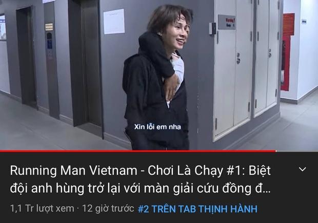 Tập mở màn Running Man Việt mùa 2 chỉ mất nửa ngày vụt lên top 2 trending, liệu có đánh bại ngôi đầu bảng? - Ảnh 2.
