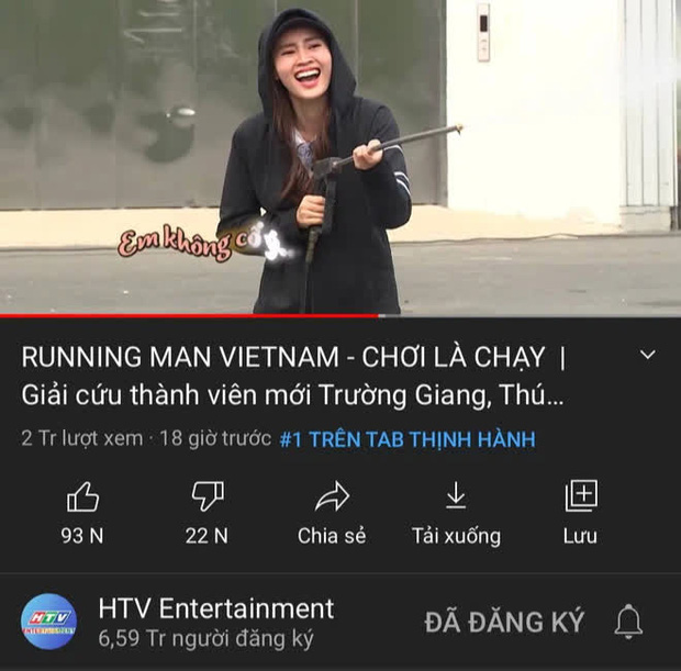 Tập 1 Running Man Việt giành top 1 trending YouTube chưa đầy 24 tiếng nhưng sao kỳ lạ thế này? - Ảnh 3.