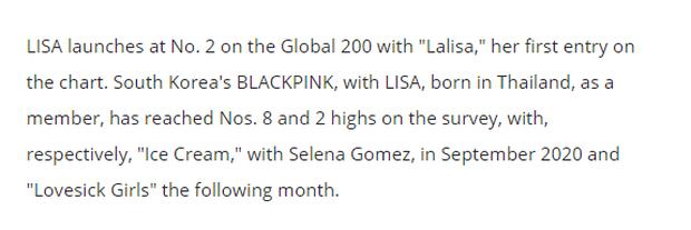 Fan BLACKPINK ném đá Billboard vì lẫn lộn Lisa với một nghệ sĩ Nhật, nhầm tí làm gì căng? - Ảnh 6.