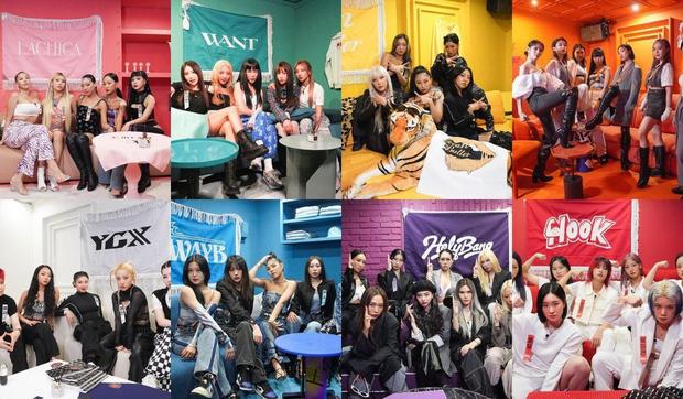 Knet chọn dàn line-up Street Woman Fighter phiên bản idol: BLACKPINK, TWICE, Red Velvet chiến khô máu - Ảnh 1.