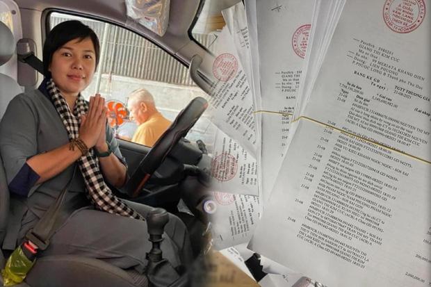 Giang Kim Cúc tung xấp sao kê tốn gần 2,5 triệu tiền giấy in: Minh bạch trong thiện nguyện không khó, chỉ là Cúc dồn một lúc gần 2 tháng nên hơi chậm trễ - Ảnh 1.