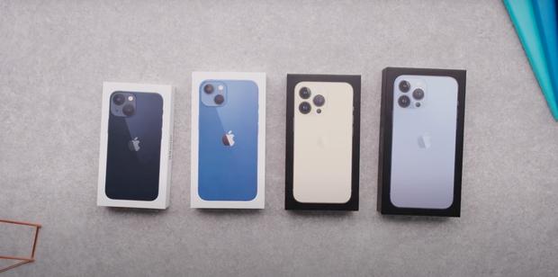 Video unbox cả 4 mẫu iPhone 13, màu xanh sierra nhận được mưa lời khen vì quá xuất sắc! - Ảnh 1.