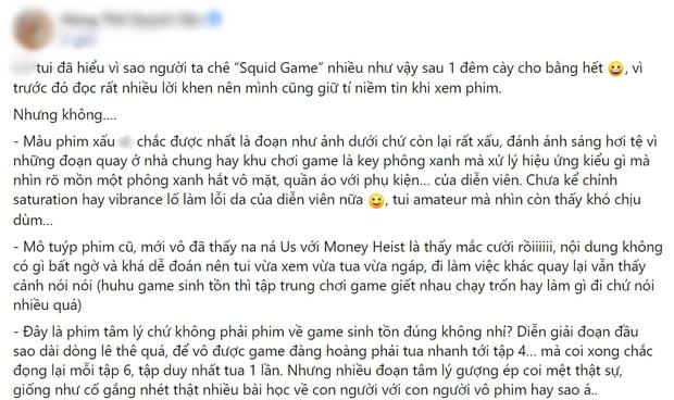 Netizen chiến nhau tanh bành vì Squid Game: Người khen hay nức nở, kẻ chê bai thảm họa - Ảnh 9.