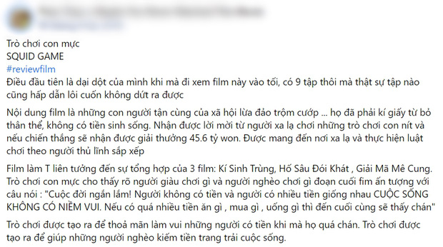 Netizen chiến nhau tanh bành vì Squid Game: Người khen hay nức nở, kẻ chê bai thảm họa - Ảnh 4.
